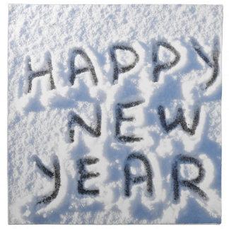 Guten Rutsch ins Neue Jahr Stoffserviette