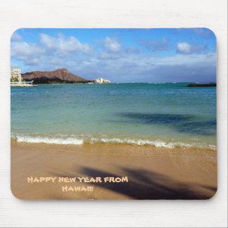 Guten Rutsch ins Neue Jahr von Hawaii! Mousepads