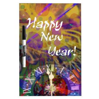 Guten Rutsch ins Neue Jahrfeier Memoboard