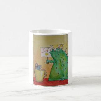Gutenmorgen Greep Tasse! Kaffeetasse