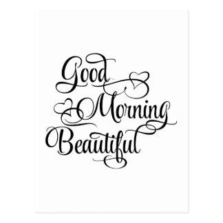 Gutenmorgen schön - inspirierend Karte