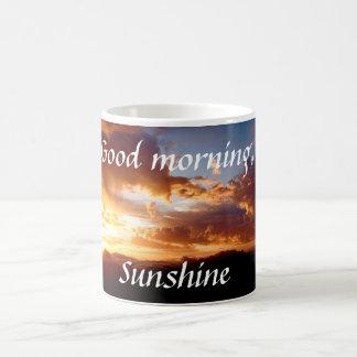 Gutenmorgen-Sonnenschein-Kaffee-Tasse Tasse