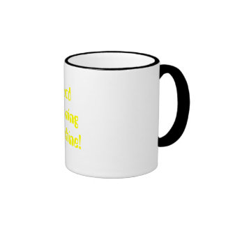 Gutenmorgen-Sonnenschein! Ringer Tasse