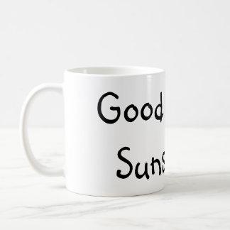 Gutenmorgen-Sonnenschein. (: Tasse