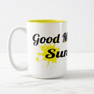 Gutenmorgen, Sonnenschein Kaffeetassen