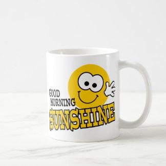 Gutenmorgen-Sonnenschein-Tasse Tasse