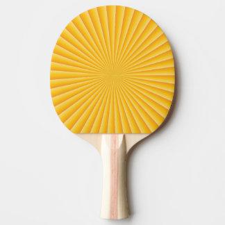 Gutenmorgen-Sonnenuntergang Tischtennis Schläger