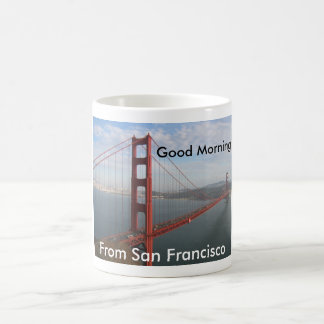 Gutenmorgen von San Francisco Kaffeetasse