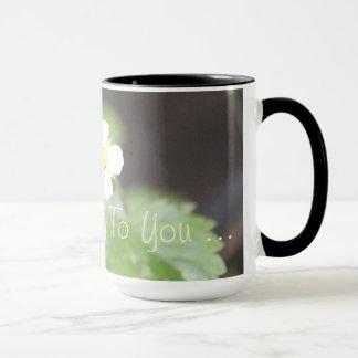Gutenmorgen zu Ihnen Tasse