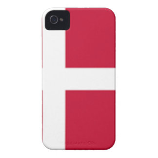 Guter Farbedänemark-Flagge Druck iPhone 4 Hülle