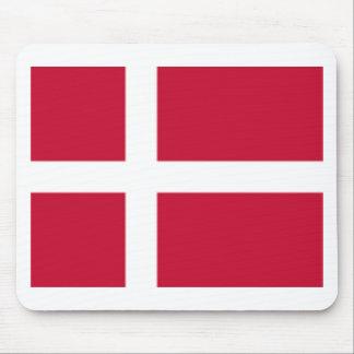 Guter Farbedänemark-Flagge Druck Mousepads