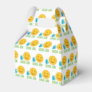 Guter Job Emoji Geschenkschachtel