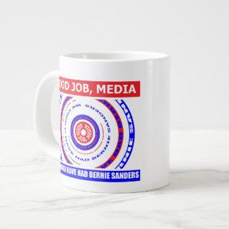 Guter Job, Medien. Wir könnten Jumbo-Tasse