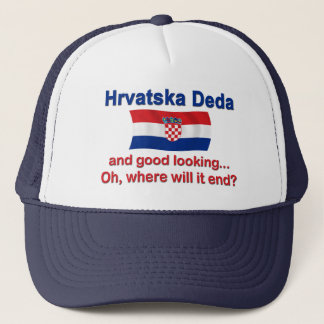 Guter Lkg Kroate Deda (Großvater) Truckerkappe