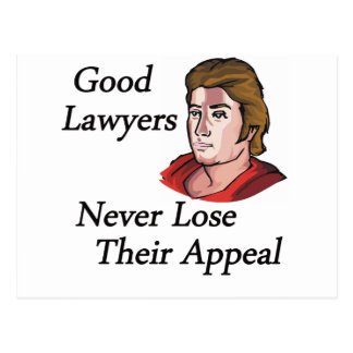 Guter Rechtsanwaltmann Postkarte