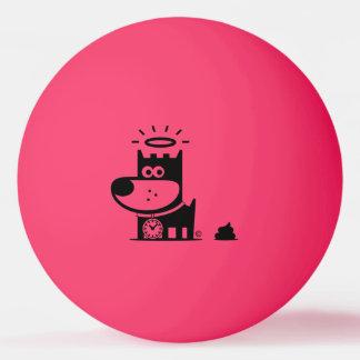 GUTER WELPE Klingeln Pong Ball. SHH… GESCHIEHT ER. Ping-Pong Ball