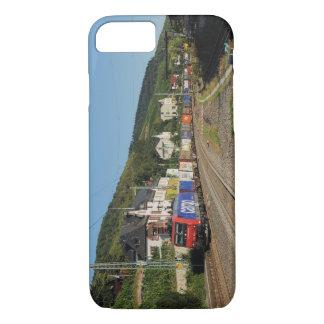 Güterzug in Lorch am Rhein iPhone 8/7 Hülle