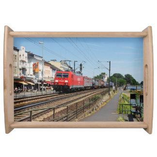 Güterzug in Rüdesheim am Rhein Tablett