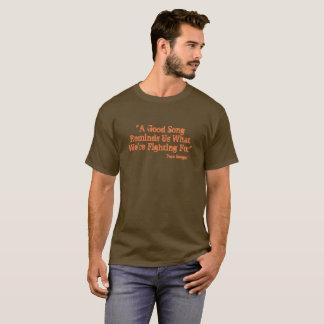 """""""Gutes Lied-"""" T-Stück Pete Seegers T-Shirt"""