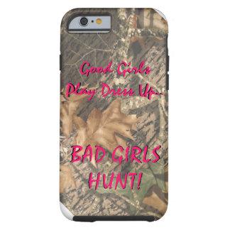 Gutes Mädchen-Spiel kleiden oben schlechte Mädchen Tough iPhone 6 Hülle
