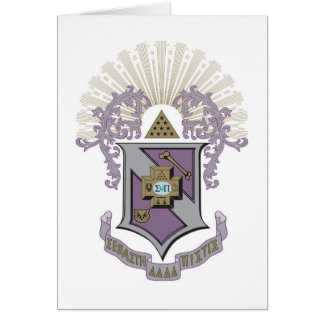 Gutes Wappen 4-C Sigma-PUs Karte