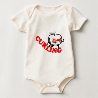 [GUTES WINDEN] Retro Bio Säugling einteilige T Baby Strampler
