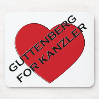 GUTTENBERG FOR KANZLER MOUSEPAD