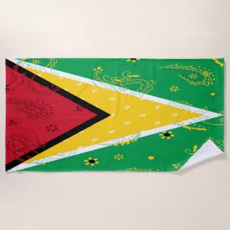 Guyana-Badetuch Strandtuch