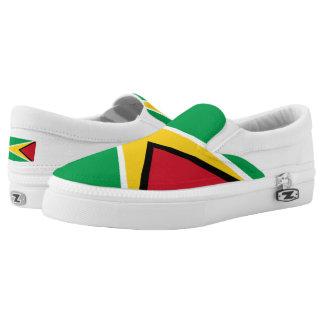 Guyana-Flagge Slip-On Sneaker