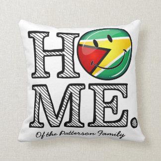 Guyana-Flaggen-smiley Housewarmer Kissen