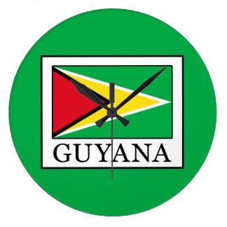 Guyana Große Wanduhr