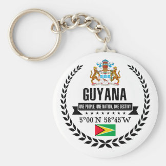 Guyana Schlüsselanhänger