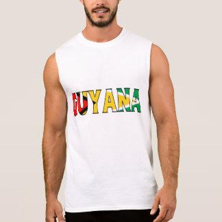 Guyana-Shirt Ärmelloses Shirt
