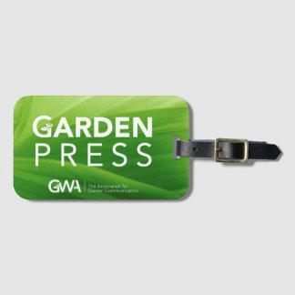 GWA Garten-Presse-Gepäckanhänger Gepäckanhänger