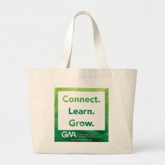 GWA schließen lernen wachsen riesige Tasche an