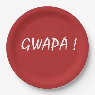 gwapa Text Cebuano FilipinoTagalog Pappteller