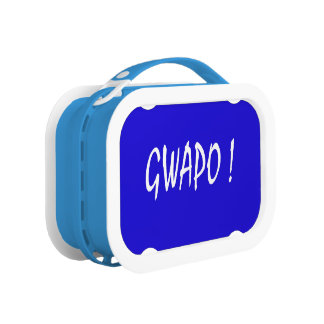 gwapo Text hübsches Tagalog-Filipino cebuano Brotdose