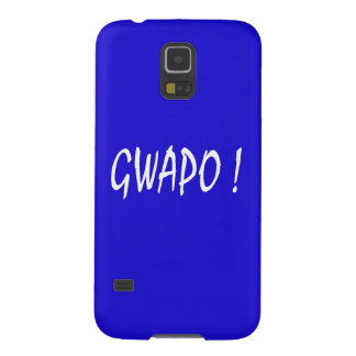 gwapo Text hübsches Tagalog-Filipino cebuano Samsung S5 Cover