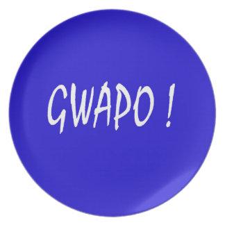 gwapo Text hübsches Tagalog-Filipino cebuano Teller