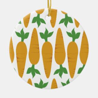 Gwennie das Brötchen: Feld der Karotten Keramik Ornament