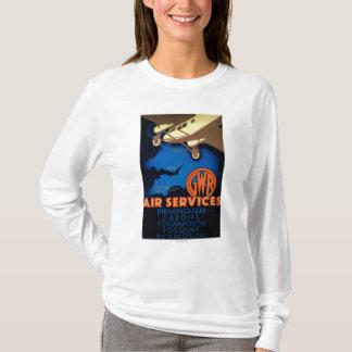 GWR Fluglinienverkehre Vintages PosterEurope T-Shirt