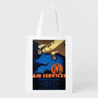 GWR Fluglinienverkehre Vintages PosterEurope Einkaufstasche