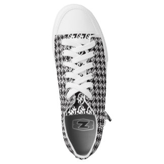 GyeNyame schwarzes n Weiß Niedrig-geschnittene Sneaker