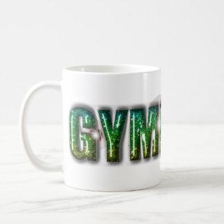Gymnast-Glitter-Grün Kaffeetasse