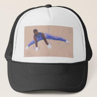 Gymnast, Hut Truckerkappe