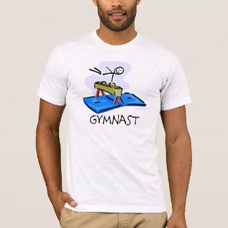 Gymnast-Strichmännchen-Knauf-PferdeT - Shirts