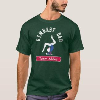Gymnast-Vati-kundenspezifische Dunkelheit T-Shirt