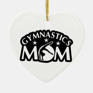 Gymnastics_Mom Keramik Ornament