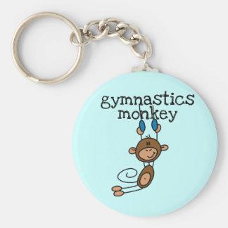 Gymnastik-Affe Schlüsselanhänger