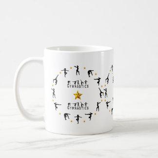 Gymnastik - Frau Kaffeetasse